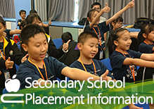 Secondary School Placement Information